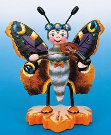 Hubrig Schmetterling Schwalbenschwanz mit Flöte 307h0044