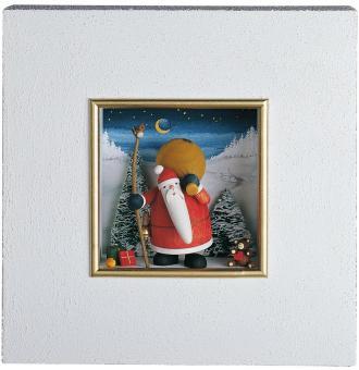 Günter Reichel Wandbild Weihnachtsmann