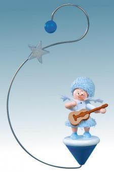 Kuhnert Baumbehang Schneeflöckchen mit Gitarre