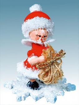 Kuhnert Schneeflöckchen als Weihnachtsmann