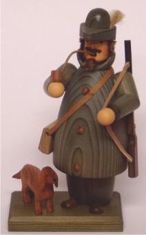 Steglich Räuchermann Jäger mit Terrier