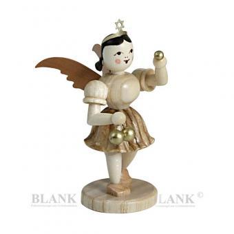Blank Sonderedition Engel mit Weihnachtskugeln natur