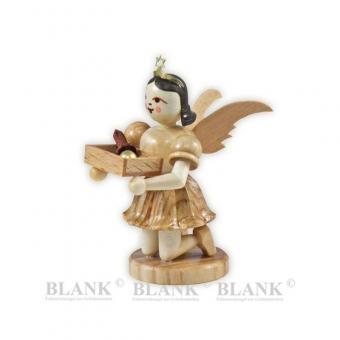 Blank Sonderedition Engel mit Weihnachtsbaumschmuck kniend