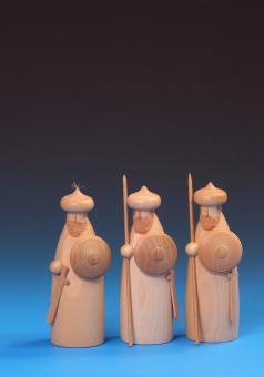 Schalling Krippefiguren Soldaten des Herodes natur