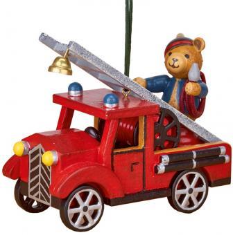 Hubrig Baumbehang Feuerwehr mit Teddy Neu 2018