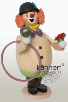 Kuhnert Räuchermann Clown Max