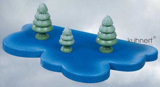 Kuhnert Schneeflöckchen Baum groß 3er Set