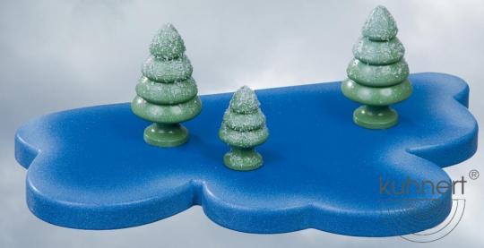 Kuhnert Schneeflöckchen Baum klein 3er Set