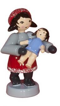 ULMIK Geschenkkind Mädchen mit Puppe, rot NEU 2015