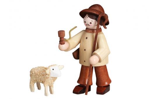 Romy Thiel Hirte mit Schaf natur