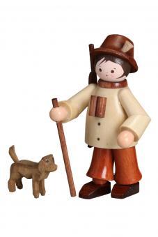 Romy Thiel Förster mit Hund natur