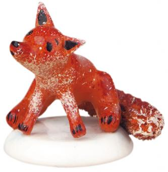 Hubrig Winterkinder Miniatur Fuchs