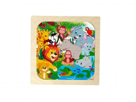 Hess Holzpuzzle Dschungel