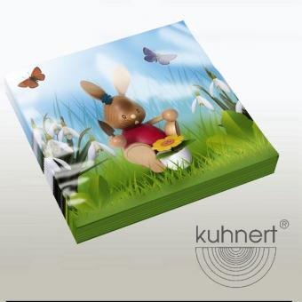Drechslerei Kuhnert Stupsi Servietten Gärtner NEU 2016