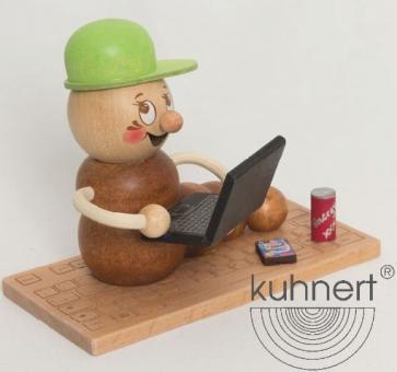 Drechslerei Kuhnert Räucherwurm Computerwurm Rudi