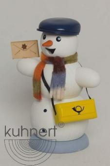 Kuhnert Räuchermann Schneemann Briefträger NEU 2016