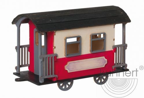Drechslerei Kuhnert Bastelset Eisenbahnwaggon