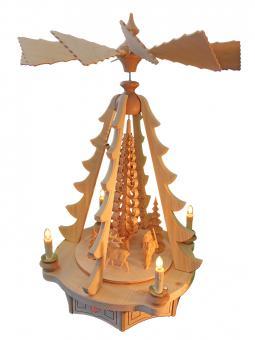 Bauch Baumpyramide Waldmotiv natur,elektrisch