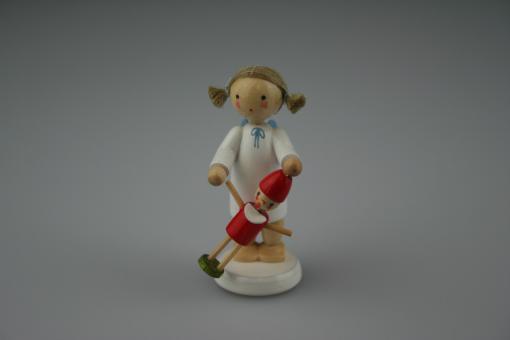 Flade Engel mit Pinocchio