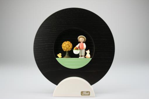 Flade Figurenbild Glückskäfer im Körbchen