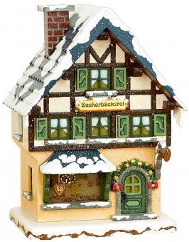 Hubrig Winterkinder Winterhaus  Zuckerbäckerei