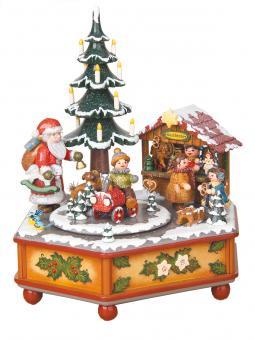 Hubrig Spieldose Weihnachtszeit
