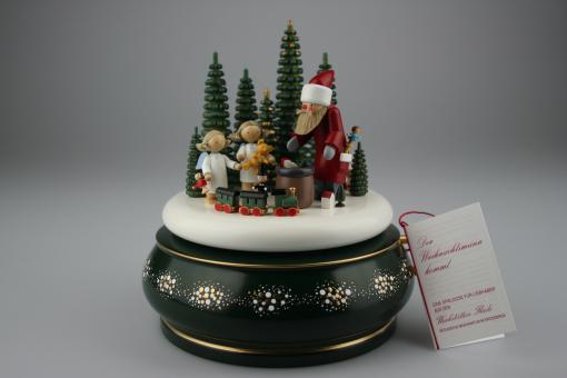 """Flade Spieldose """" Der Weihnachtsmann kommt """" limitiert"""