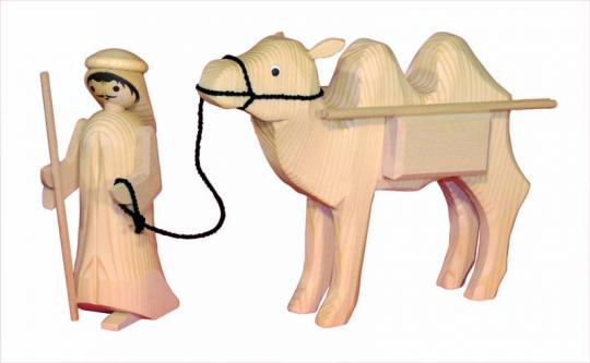 ULMIK Kameltreiber mit Kamel Pakete 2tlg , natur