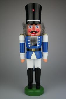 Hodrewa Legler Nussknacker Wachsoldat blau