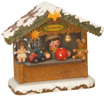 Hubrig Winterkinder Geschenkehäusel elektrisch