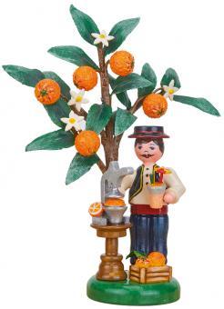Hubrig Jahresfigur 2021 Orange mit Zertifikat