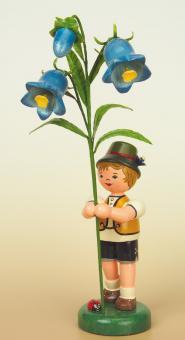 Hubrig Blumenkind Junge mit Fingerhut Rarität