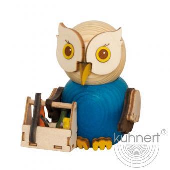 Drechslerei Kuhnert Holzfigur Mini Eule Handwerker Neu 2021