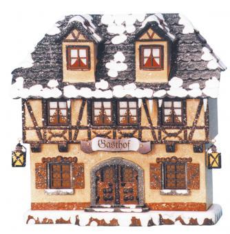 Hubrig Winterkinder Winterhaus Gasthof