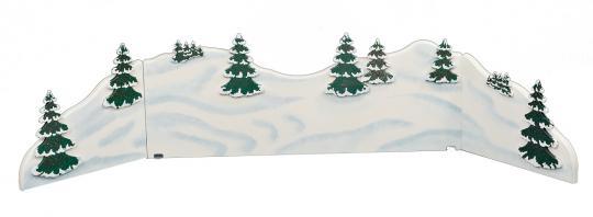 Hubrig Winterkinder Winterlandschaft Diorama