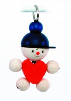 Hess Spielzeug Schlüsselanhänger Joe mit Herz