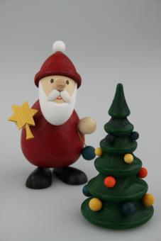 Paul Ullrich Weihnachtsmann mit Baum, modern