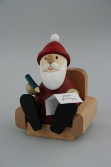 Paul Ullrich Weihnachtsmann im Sessel modern
