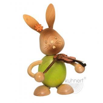 Drechslerei Kuhnert Stupsi Hase mit Geige Neu 2020
