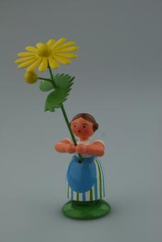 Weha Kunst Blumenkind gelbe Margerite