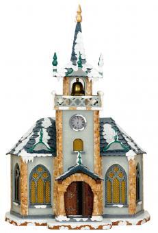 Hubrig Winterhaus Kirche elektrisch