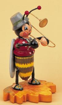 Hubrig Käfer Hummelmännchen mit Posaune