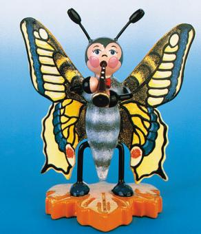 Hubrig Käfer Schmetterling mit Flöte