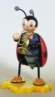 Hubrig Marienkäfer mit Trompete Rarität