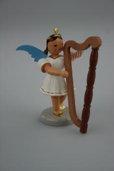 Blank Kurzrockengel mit Harfe, farbig