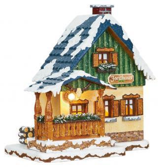 Hubrig Winterkinder Winterhaus Forsthaus