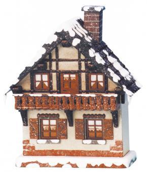 Hubrig Winterkinder Winterhaus Balkon