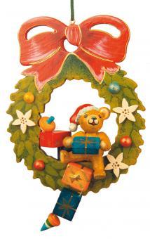 Hubrig Baumbehang Teddy Adventskranz
