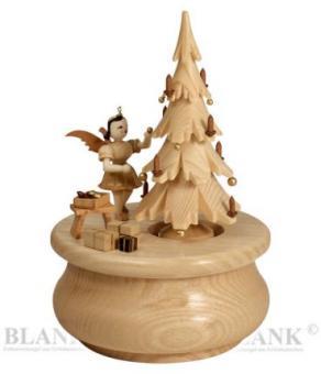 Blank Spieldose Weihnachtstraum natur