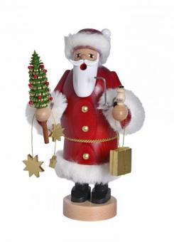 KWO Räuchermann Weihnachtsmann mit Bäumchen Neu 2019